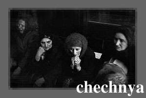 Women mourning over the dead in Chechnya